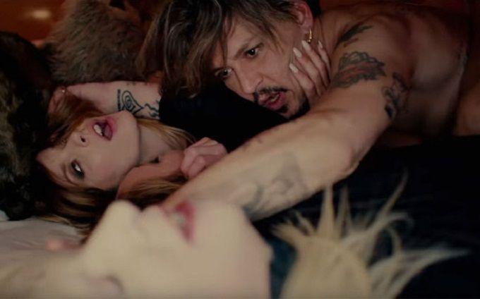 Секс и смерть с Джонни Деппом: Мэрилин Мэнсон снял новый провокационный клип