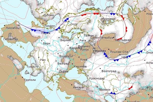 Метеорологи пояснили таємничий туман над Києвом: з'явилося відео (1)