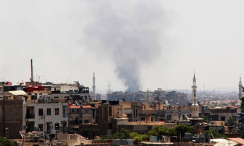У Дамаску з міномета обстріляли посольство РФ
