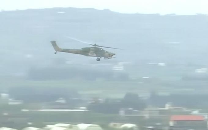 В Сирии засекли новейшие российские вертолеты: появилось видео