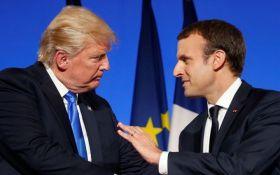 """Макрон висунув жорсткий ультиматум Трампу перед самітом """"великої сімки"""""""