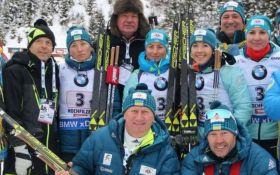 Українські біатлоністи відмовилися їхати на Кубок світу в Росію