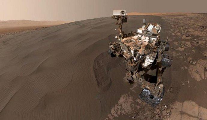 NASA опубликовало селфи марсохода Curiosity