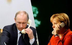 Путін і Меркель вирішили активізувати роботу в нормандському форматі