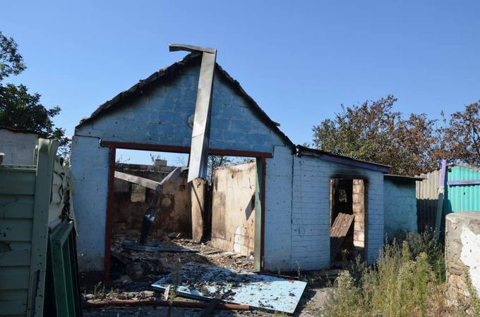Провокації бойовиків ДНР в Зайцеве: з'явилися фото наслідків (1)
