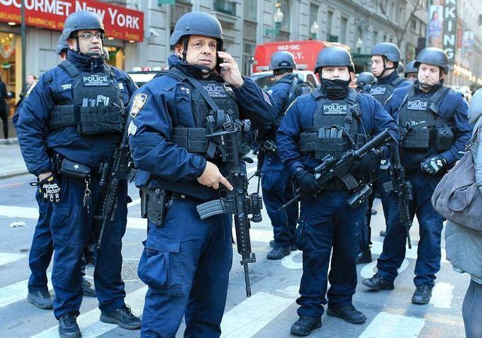ВНью-Йорке схвачен подозреваемый вовзрыве наавтовокзале