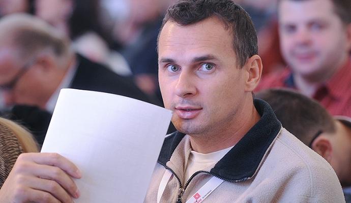 В Киеве презентуют книгу Олега Сенцова