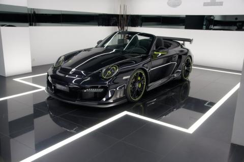 Кабріолет Porsche 997 Turbo від TechArt (8 фото) (4)