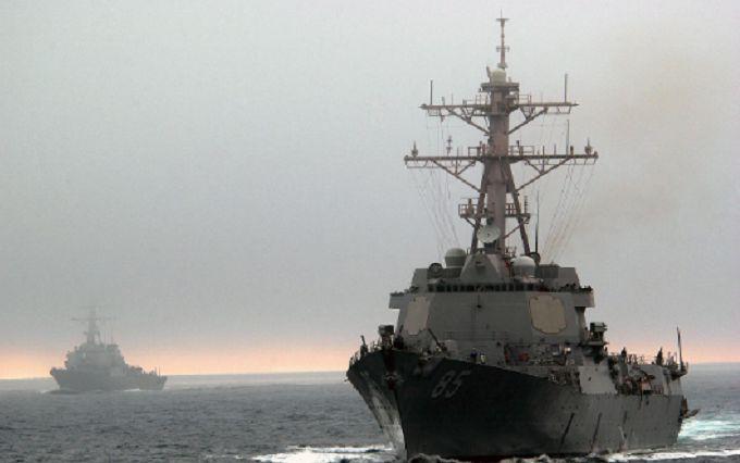 Американский эсминец демонстративно прошел рядом стерриториальными водами Российской Федерации на далеком Востоке