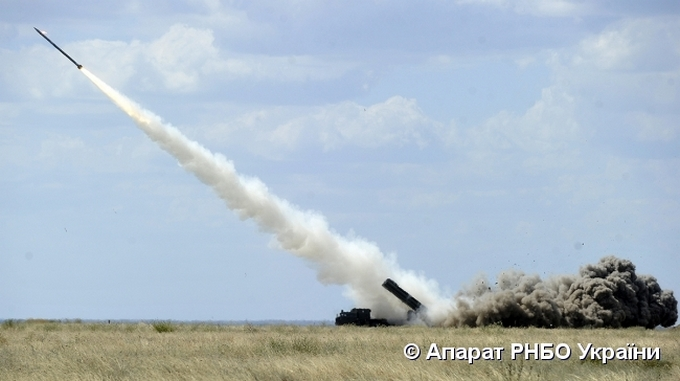 З'явилися фото випробувань нової української ракети (1)