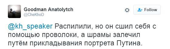 """Новий """"розп'ятий хлопчик"""": мережу підірвало відео з божевільною розповіддю бойовика ДНР (6)"""