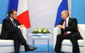 Макрон в разговоре с Путиным сделал громкое заявление по Донбассу