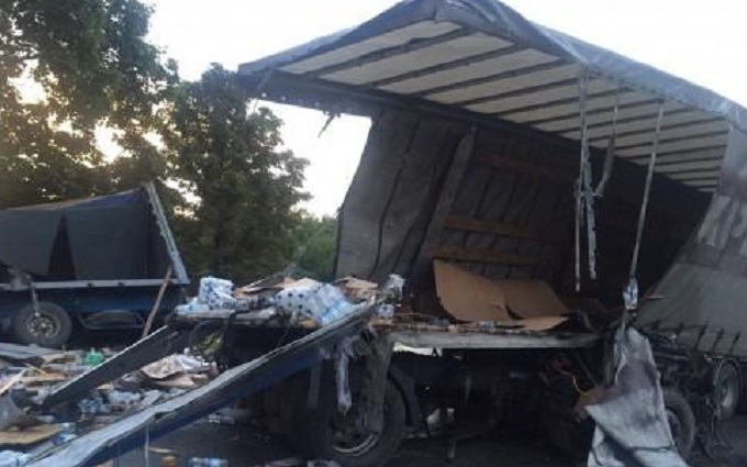 Смертельна ДТП на Харківщині: зіткнулися дві фури, з'явилися фото