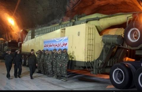 В Ірані показали підземну ракетну базу на глибині 500 метрів (5 фото) (5)