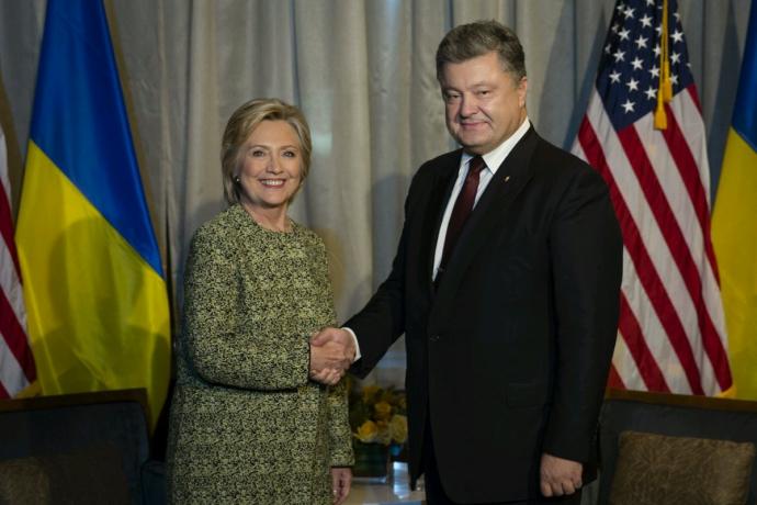 Зустріч Порошенка з Клінтонами: з'явилися фото і подробиці (1)