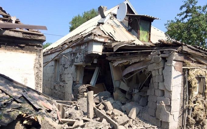 Обстріл Донецька: з'явилися нові фото