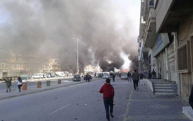 В Сирии произошел взрыв, десятки погибших: фото с места событий