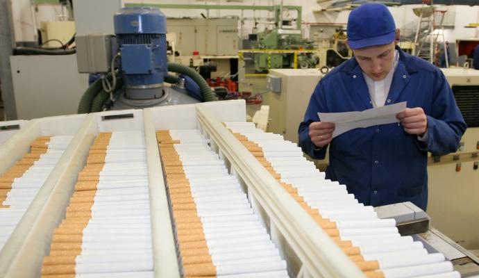 Рекордные поступления госбюджет получил от табачной продукции