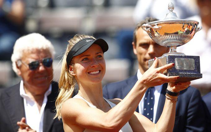 Українська тенісистка рекордно виграла супертурнір в Римі