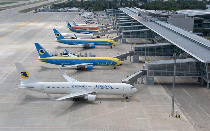 Літак зійшов зі смуги: аеропорт «Бориспіль» тимчасово закрили