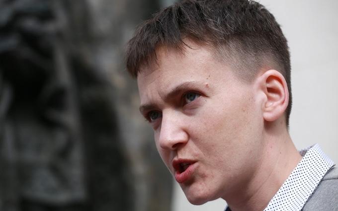 Савченко звернулась до НАТО із закликом