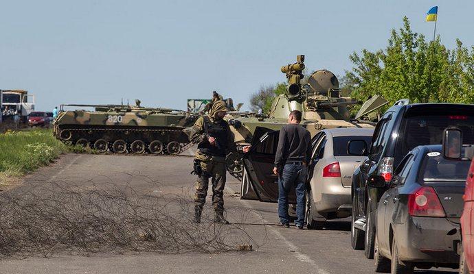 Украина откроет пункты пропуска транспорта из Луганска