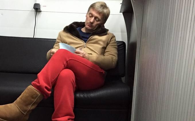 """""""Ненавижу прям"""": в сети появилось """"наглое"""" фото пресс-секретаря Путина"""