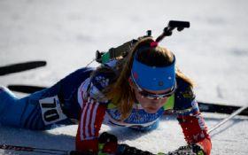 Российская биатлонистка выступит за сборную Украины