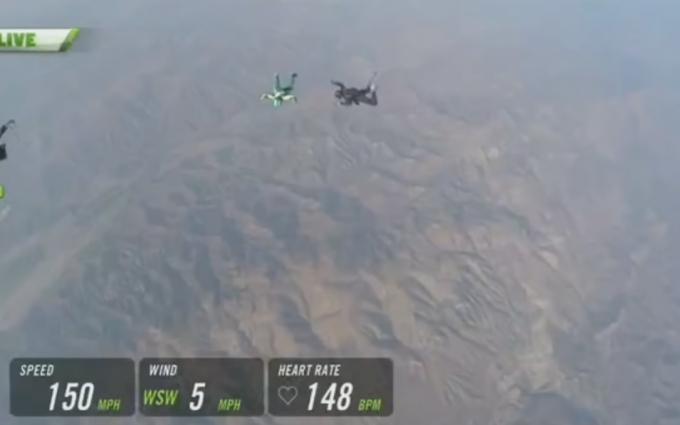 Американець вразив світ рекордним стрибком без парашута: з'явилося відео