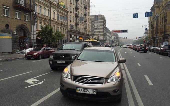 У заступника міністра в Києві викрали машину