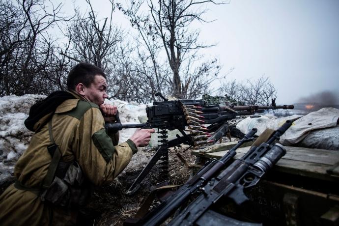 За минулу добу бойовики 24 рази обстрілювали позиції сил АТО (відео)