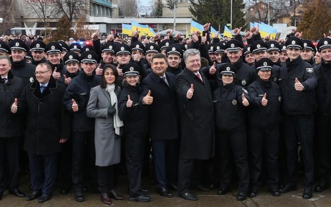 В Виннице запустили новую полицию: опубликованы фото и видео