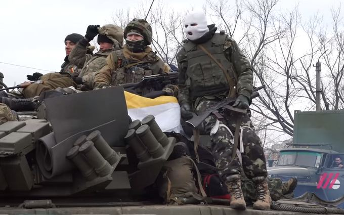 Как боевики ДНР захватили Дебальцево: опубликовано видео