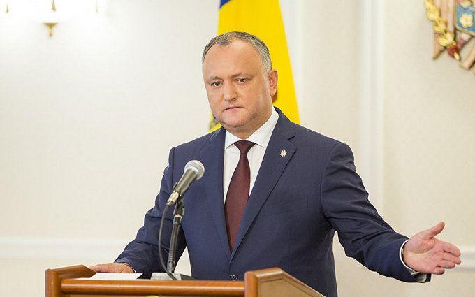 Отстранение президента Молдовы от должности: появилась первая реакция Додона