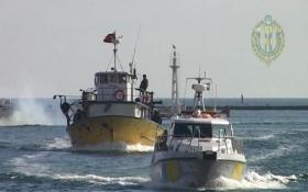 Украина отобрала корабль у турецких браконьеров: опубликованы видео