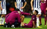 Гюндоган вновь получил травму колена