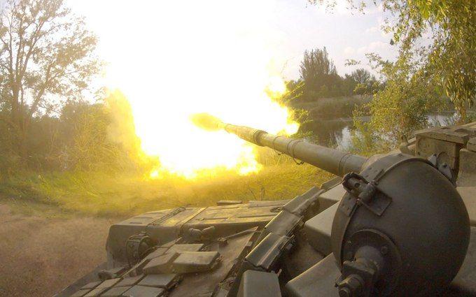 На Донбассе не прекращаются ожесточенные бои: враг понес потери в технике и живой силе