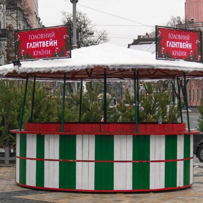 В Киеве уже установлена главная елка страны 2019: новые зрелищные фото (2)