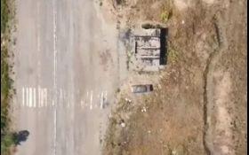 Опубликовано видео мощных авиаударов по позициям боевиков на Донбассе