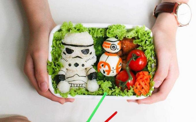 Опубликованы фото креативных обедов в школу