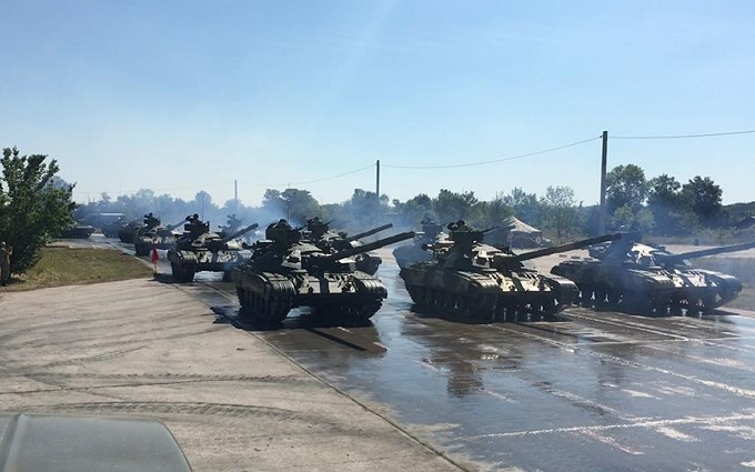 У Порошенка похвалилися фото українських танків