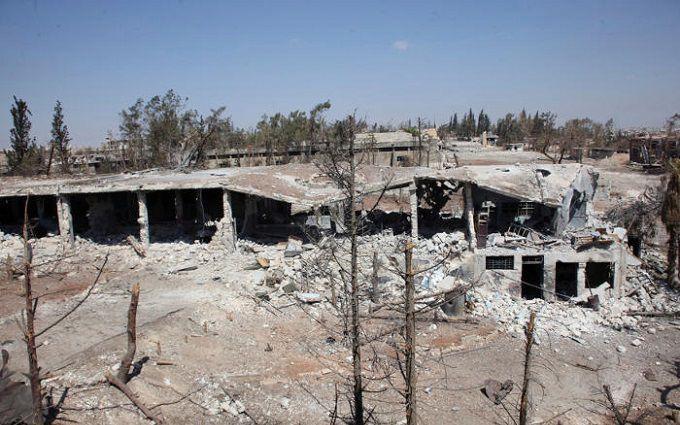 Росіяни в Сирії потрапили під обстріл в прямому ефірі: опубліковано відео