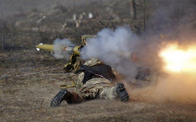 Под Донецком прошел бой: опубликовано фото