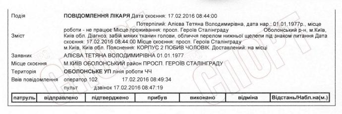 Экс-динамовец Алиев избил свою жену: опубликован документ (2)