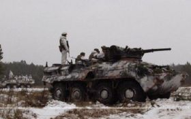 Это нужно увидеть: на Донбассе украинские воины уничтожили боевую машину вместе с оккупантами
