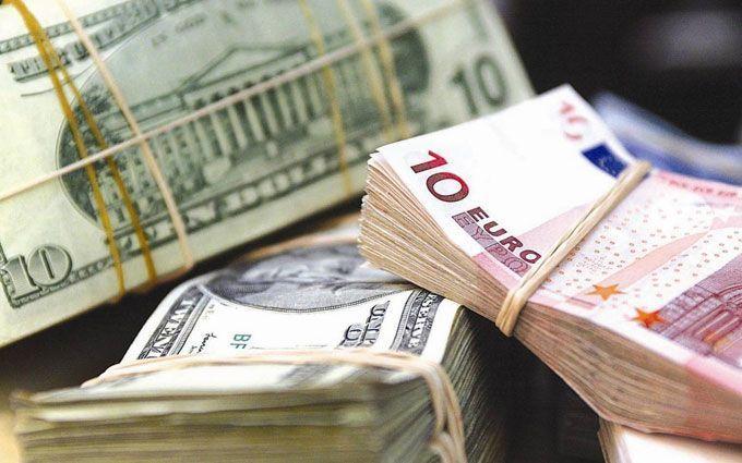 Курси валют в Україні на середу, 22 листопада