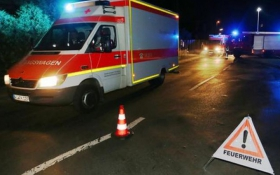 Резня топором в Германии: появились видео с места события
