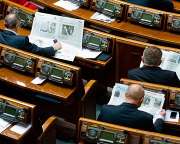 """В Раду проходят """"Батьківщина"""", ПР, """"Фронт змін"""", КПУ и """"УДАР"""" - опрос"""