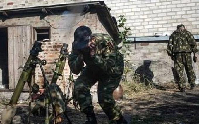 Боевики обстреливали позиции ВСУ из минометов - штаб АТО