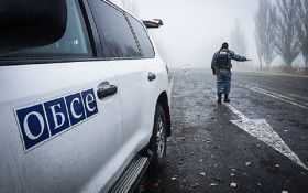 На Луганщине подорвался автомобиль ОБСЕ, есть погибшие и раненые